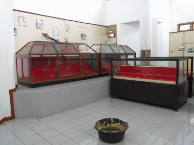kondisi ruangan museum buwono keling